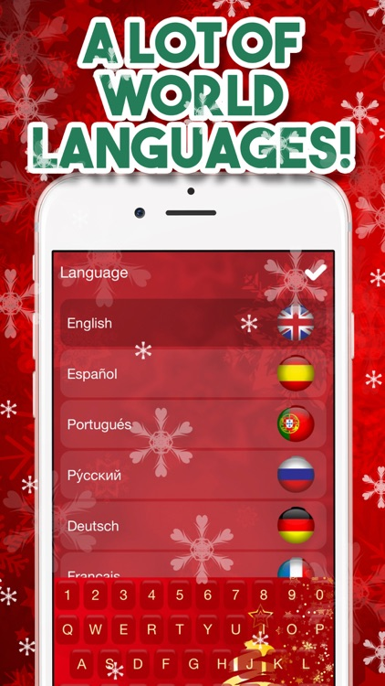 Christmas Keyboard – Xmas Themes & Emoji screenshot-3