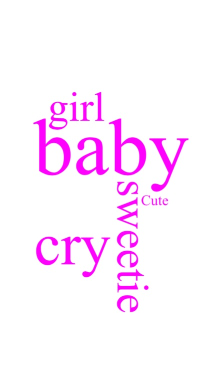 Create Baby Word Cloud Memories screenshot-3