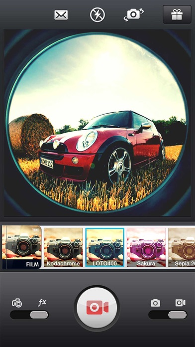 InFisheye - Fisheye Lens for Instagram Скриншоты4