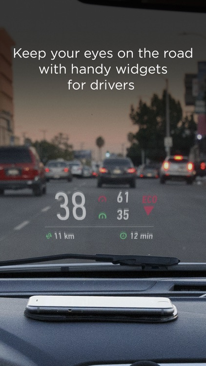 HUD Widgets — Driving widgets with HUD mode