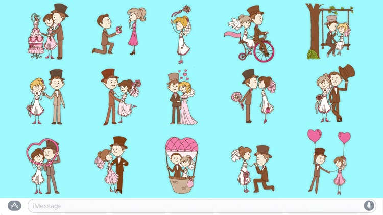 Wedding - Sticker Pack