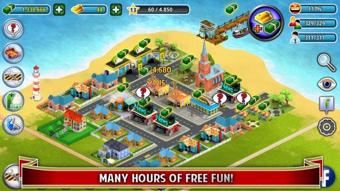 City Island - Building Tycoon - Citybuilding Sim Screenshot
