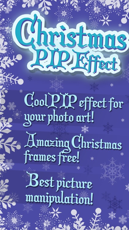 Christmas PIP Effect – Picture in Picture Editor screenshot-0