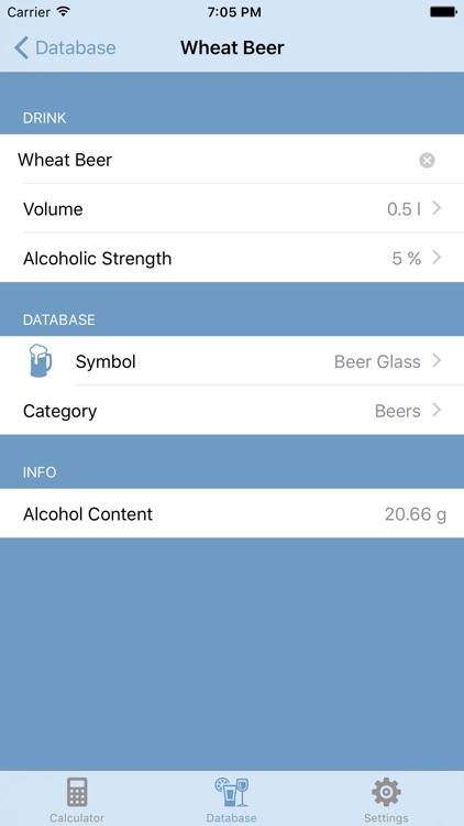 BAC Calc - Live Blood Alcohol Content Calculator screenshot-3