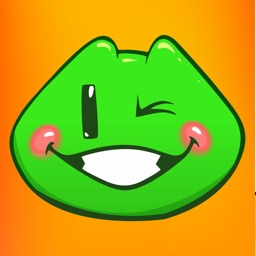 Blush Froggy Moji - Sticker Set for iMessage