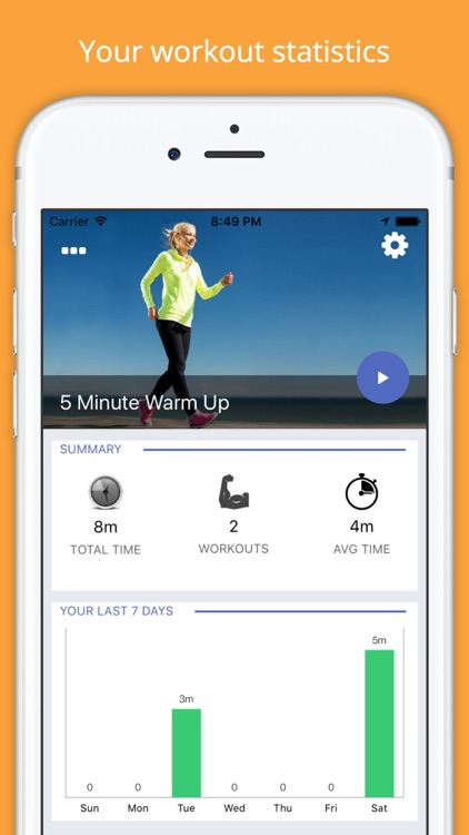 5 Minute WARM UP Pre-Workout Challenge Free screenshot-0