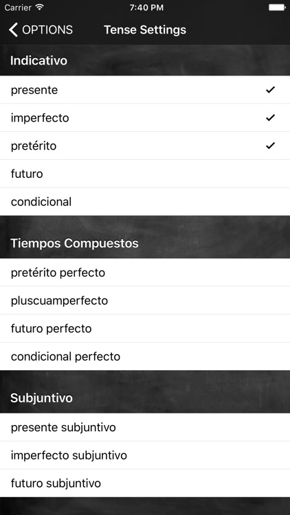 Conjugation Nation Spanish screenshot-3