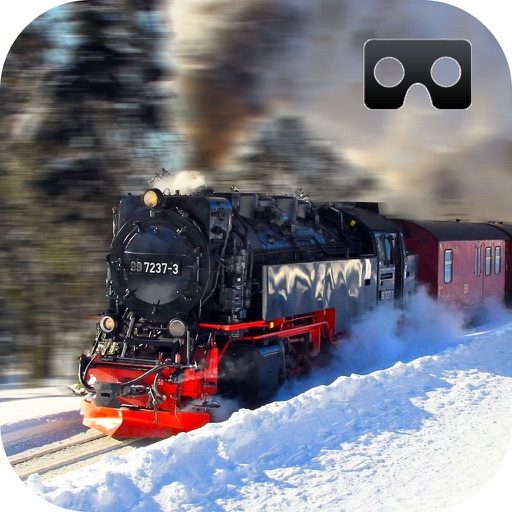 Vr Snow Train Simulator : New Virtual Reality Game