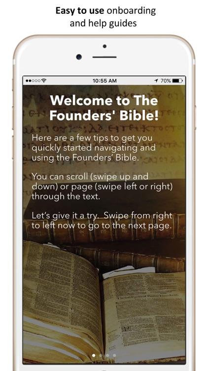 The Founders' Bible screenshot-4