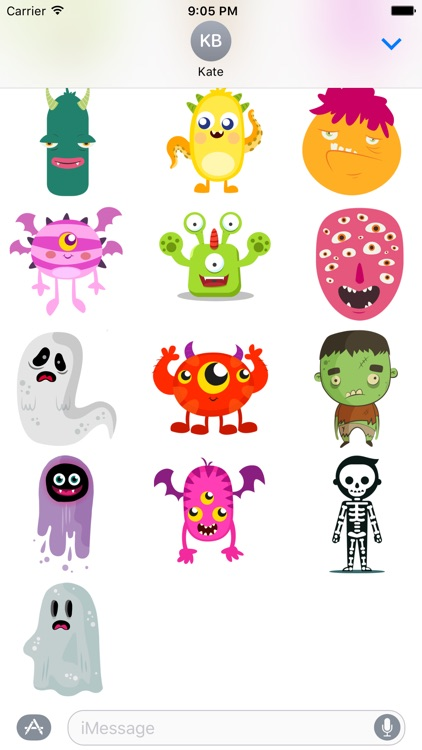 Halloween sticker pack