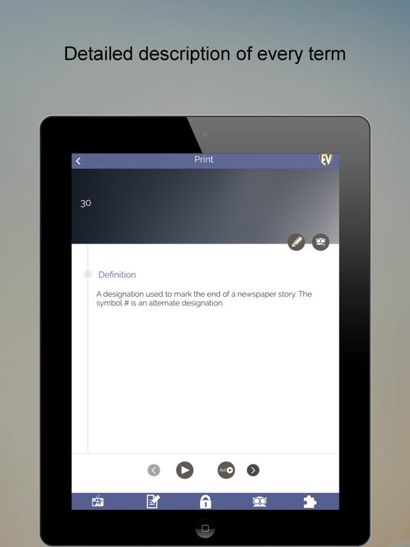 Journalism Dictionary,Public Relation Ethics & Storyboard FREE screenshot