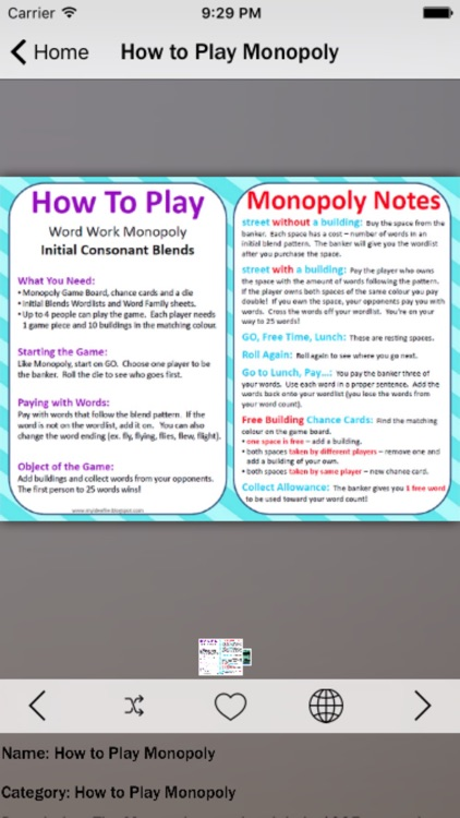 Guide for Monopoly Game