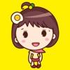 Yolk Girl Sticker - ガール卵黄かわいいステッカーパック