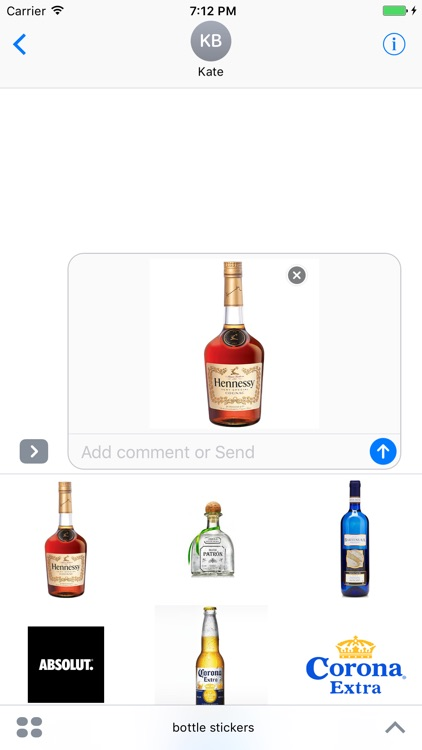 Club bottles stickers screenshot-4