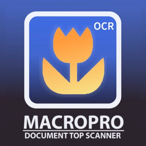 MacroTopScanner- Document scanner with OCR text reader top version