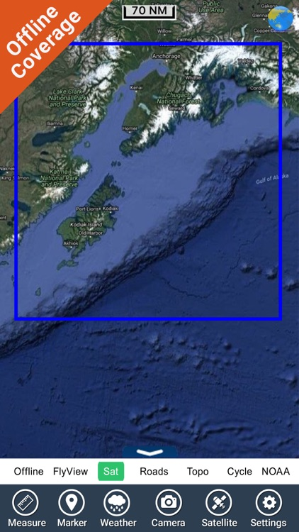 Marine : Alaska South West HD - GPS Map Navigator screenshot-4