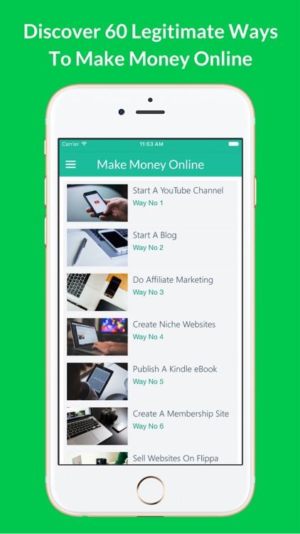 How To Make Money - 60 Ways