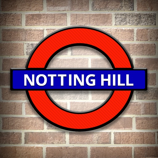 Notting Hill Travel Guide and Offline Street Map