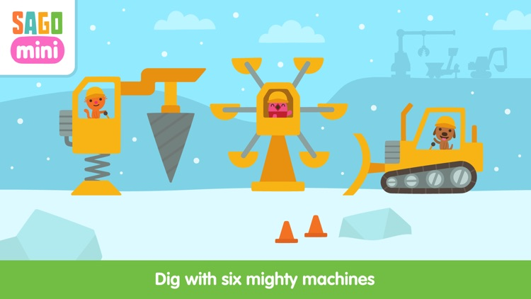 Sago Mini Holiday Trucks and Diggers screenshot-2