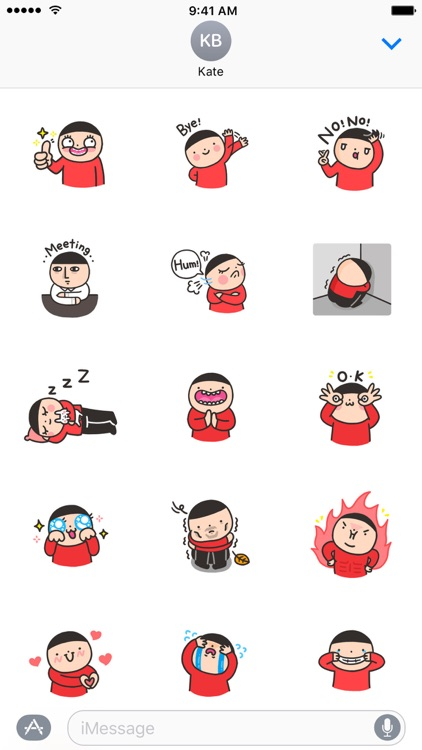 Aki's Daily Life − NHH Stickers