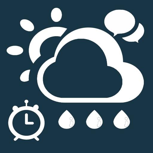 طقس و دردشة - منبه حالة الطقس مع الدردشة