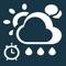 يقوم تطبيق منبه حالة الطقس مع الدردشة بتنبيهك يوميا بالحاله الجويه لليوم التالي