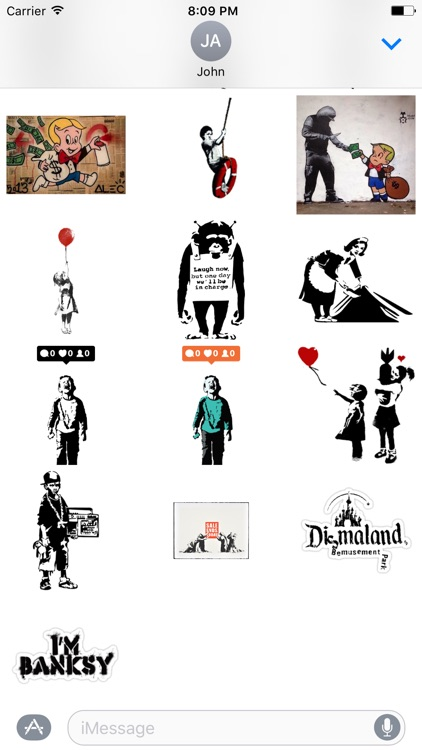 Banksy Sticker Art screenshot-4