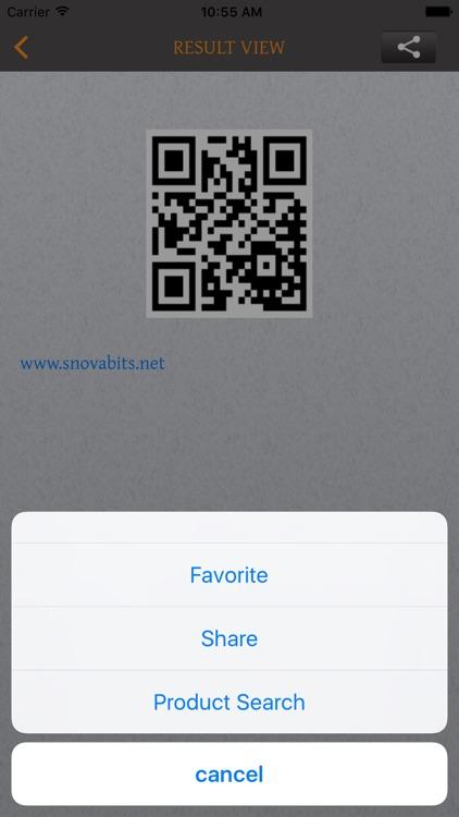 Bar/QR-Code Scan&Generator Pro screenshot-4