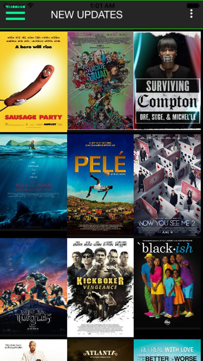 Black Box - Black Movie List Screenshot