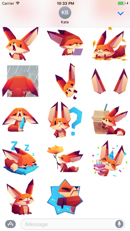 The Little Fox stickers screenshot-3