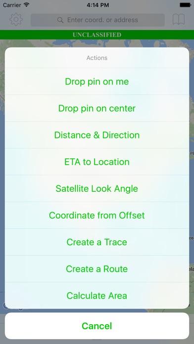 Tactical Navigator review screenshots