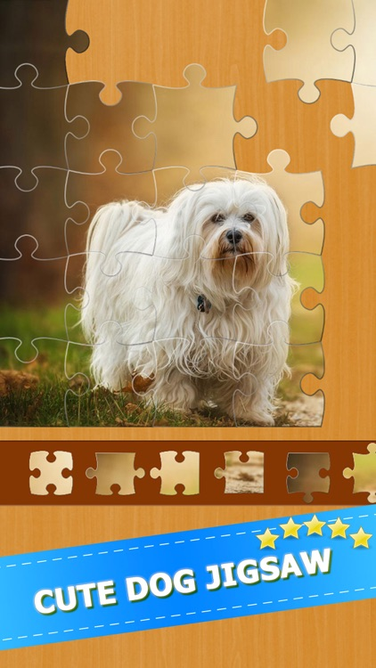 Cute Puppy Dogs Jigsaw Puzzles Games For Adults