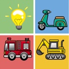 Vehicles Transportation Remember Matching Kid Game icon