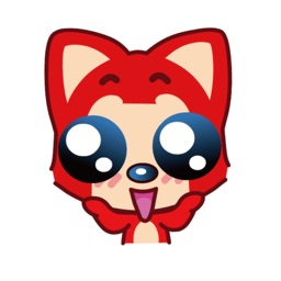 Red Fox Stickers Pack