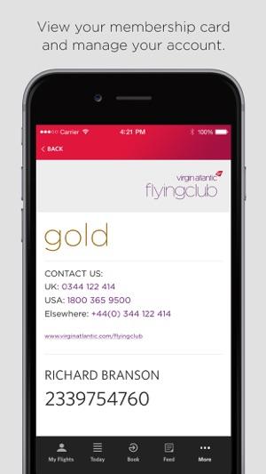 Virgin atlantic on the app store iphone screenshots reheart Images