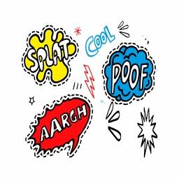 Comic Art Patches