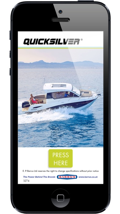 Quicksilver Boats UK screenshot one