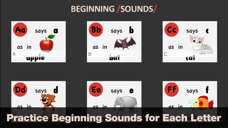 Beginning Sounds - Endless Phonics Reader