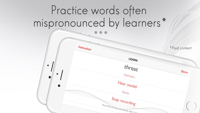 (How to) Pronounce: learn pronunciation of words Screenshot