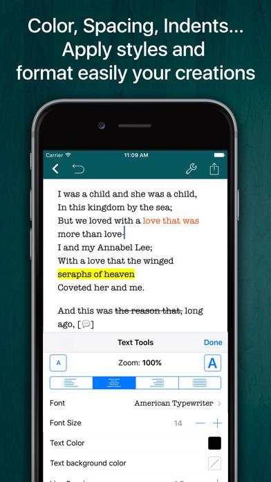 Screenshot #3 pour Verse Editor