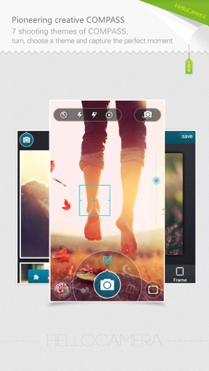 Camera360 Concept - HelloCamera Screenshot