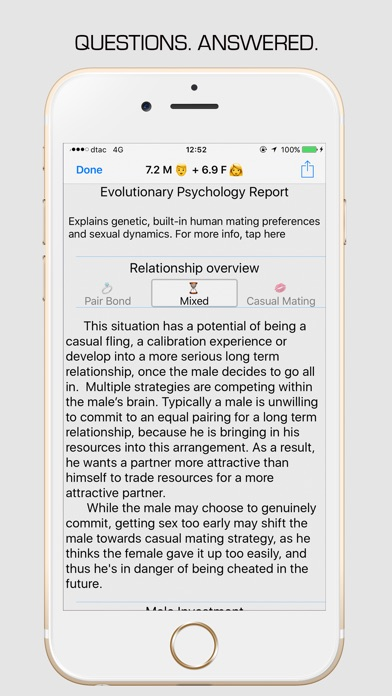 Dating calculator app