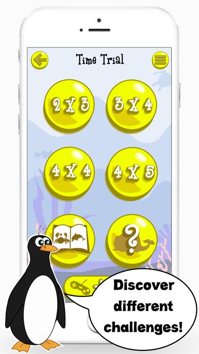 Sea Animals Matching Game Educational App for Kids screenshot two