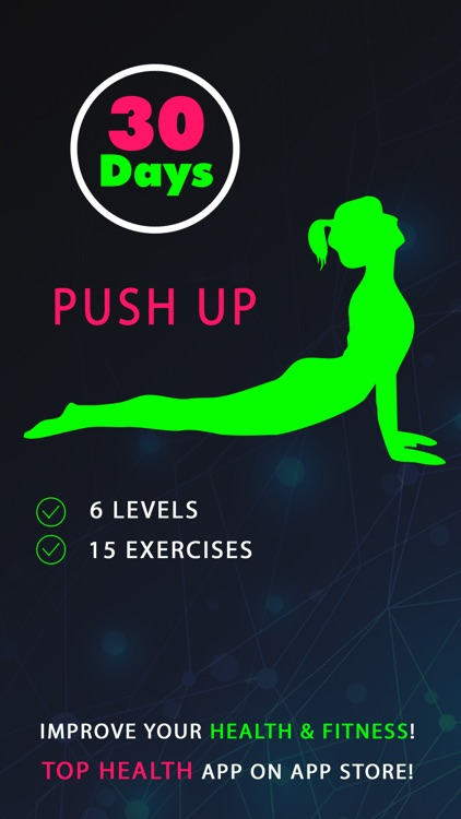 30 Day Push Up Fitness Challenges Pro