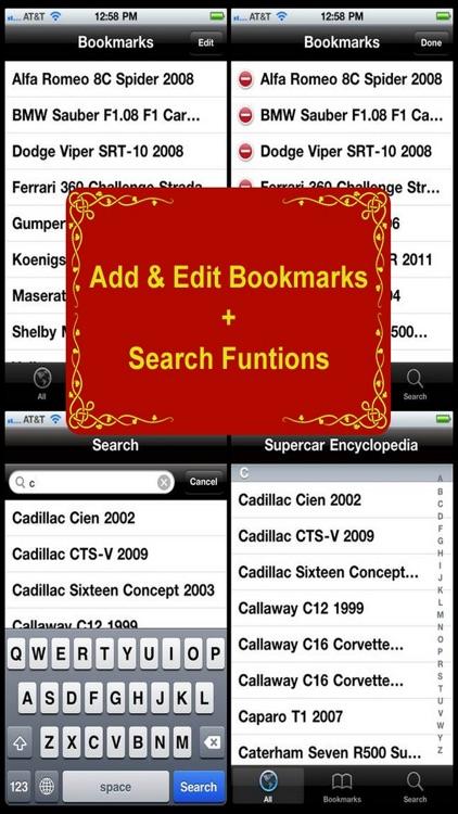 Supercar Encyclopedia screenshot-3