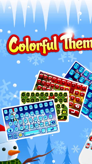 Christmas Keyboards Skins - Color Keyboard Changer