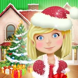 Christmas Doll House Games 3D: My Home Design.er