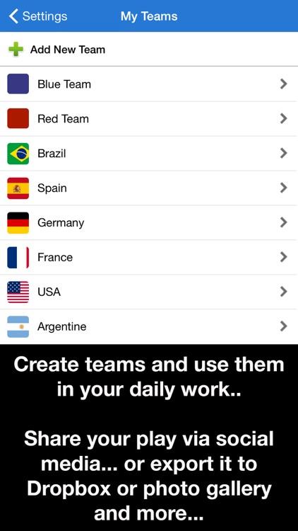 Coach Tactic Board: Soccer screenshot-3
