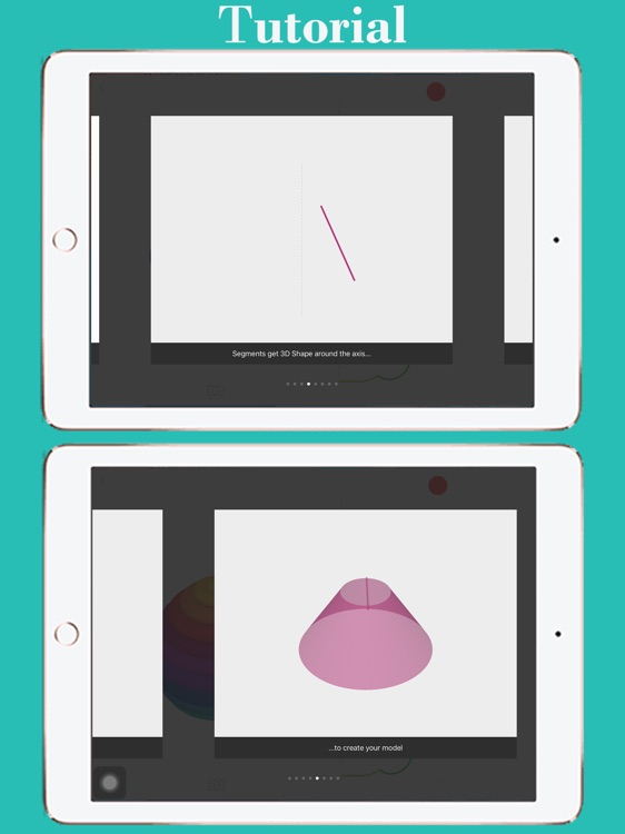 3D Shape Creator: 3D Revolved Modelling App screenshot-3