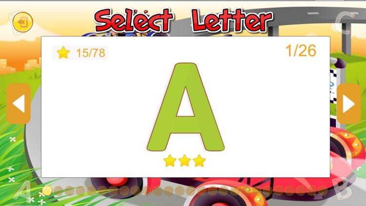 ABC English Letter Tracing PreSchool Activity screenshot-4